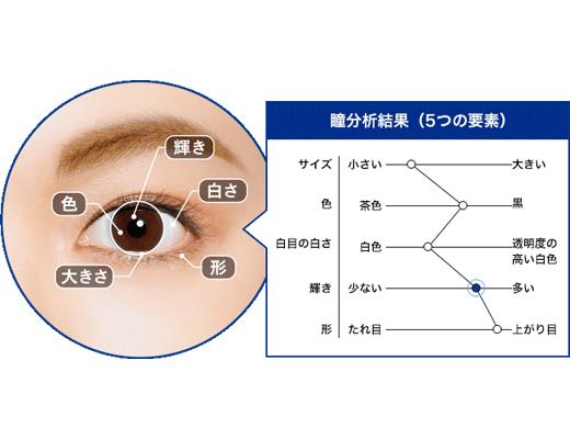 Step2 瞳を分析・数値化